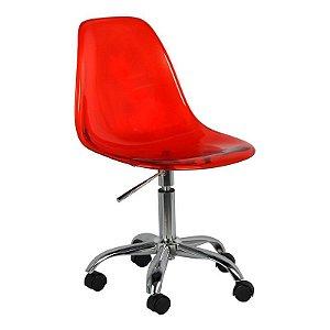 Cadeira New Office Vermelha