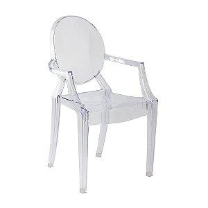 Cadeira Incolor Louis Ghost em Policarbonato