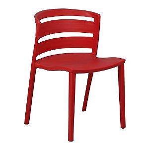 Cadeira Cambuci Vermelha em PP