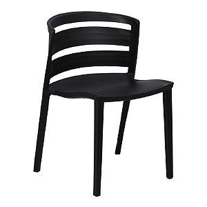 Cadeira Cambuci Preta em PP
