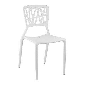 Cadeira Ipiranga Branca em Polipropileno
