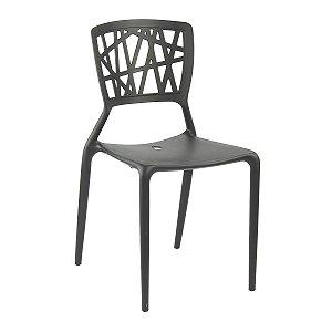 Cadeira Ipiranga Preta em Polipropileno