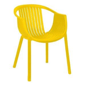 Cadeira Anhembi Amarela em PP