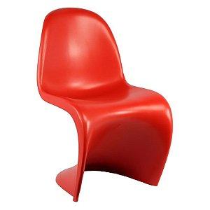 Cadeira Panton Vermelha em PP