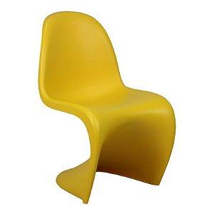 Cadeira Panton Amarela em PP