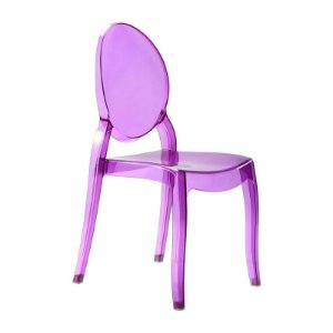 Cadeira New Sophia Roxa s/ braço