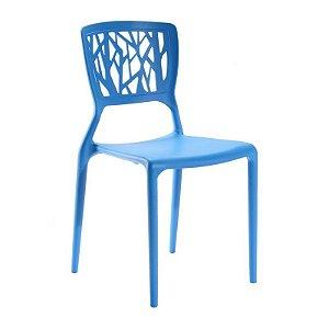 Cadeira Ipiranga Azul em Polipropileno