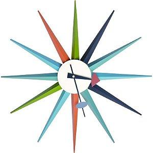 Relógio de Parede Marte Colorido