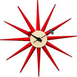 Relógio de Parede Marte Vermelho