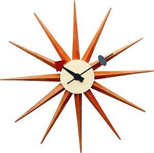 Relógio de Parede Marte Marrom