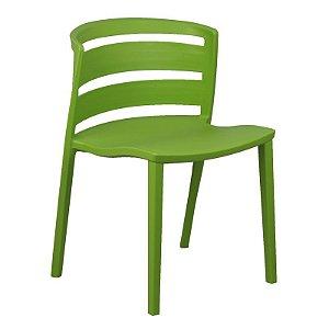 Cadeira Cambuci Verde em PP