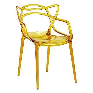 Cadeira Lauren Amarela em PC