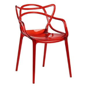 Cadeira Lauren Vermelha em PC
