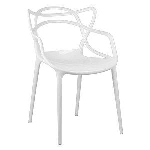 Cadeira Lauren Branca em PC