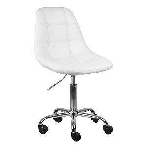 Cadeira Panamá Branca em PU