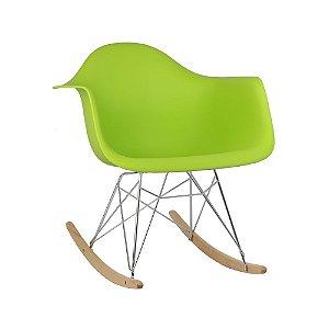 Cadeira Verde Charles Eames Balanço DAR em PP