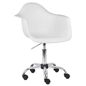 Cadeira Branca Charles Eames Office Dar em PP