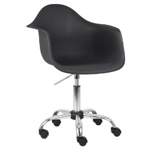 Cadeira Cinza Charles Eames Office Dar em PP
