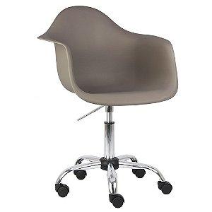 Cadeira Marrom Nude Charles Eames Office Dar em PP