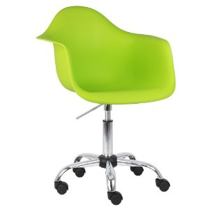 Cadeira Verde Charles Eames Office Dar em PP