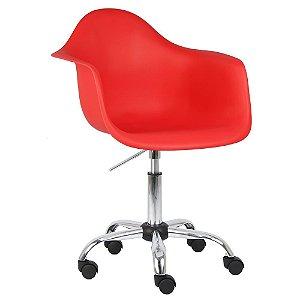 Cadeira Vermelha Charles Eames Office Dar em PP
