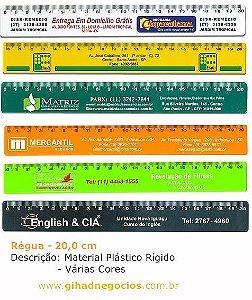 Réguas Plastica , Metal, Ferragista