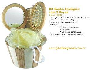Kit Banho Ecologico 12382 - MAIS MODELOS
