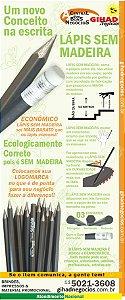 Lápis  SEM MADEIRA  -   ECOLOGICO