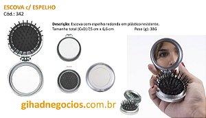 Espelho - Pincel - Manicure  1310C   774    4657   3859   1361  -  MAIS MODELOS
