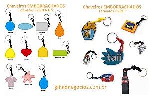 Chaveiro EMBORRACHADO - Mais Modelos