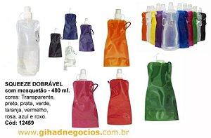 Squeeze Dobravel  -  Plastico  - 12459 - MAIS MODELOS