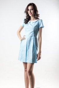 Vestido Princess Baby Blue