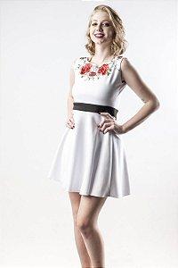Vestido White Garden - Linha Happen WM