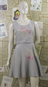 Vestido Aquarelle Flowers