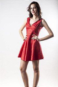 Vestido Brocado Red - Linha Happen WM