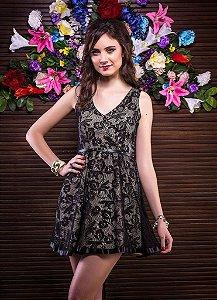 Vestido Renda Black