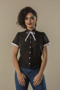 Camisa Femme Black