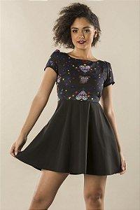 Vestido Echanted Black