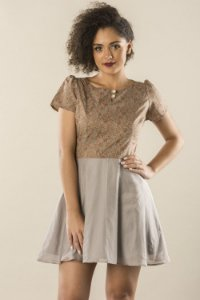 Vestido Vintage Girl
