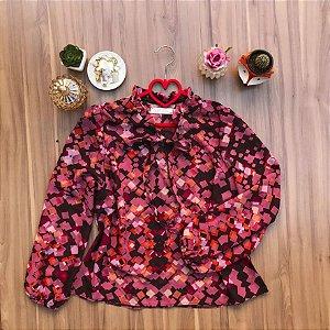 Blusa Geometrical Pink