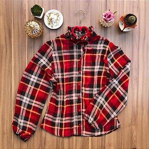 Camisa Tartan Red