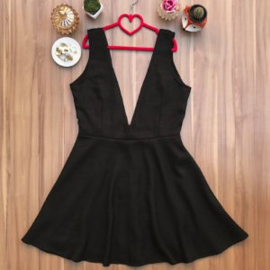 Vestido Salopete Tweed London Black