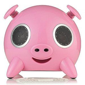 Ispeaker Pig USB Sd Card Biv Ello Rosa EIP102