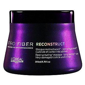 Máscara Pro Fiber Reconstruct - L'oréal professionnel - 200ml