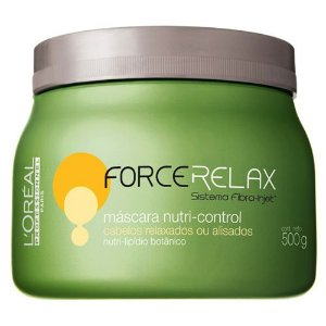 Máscara Nutri Control Force Relax - L'Oreal Professionnel - 500ml