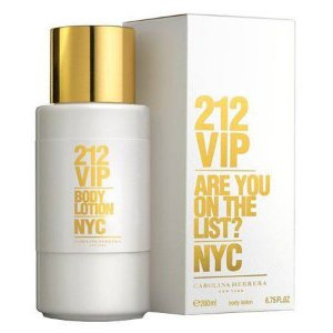 Loção Corporal 212 Vip Body Lotion Nyc Feminino - Carolina Herrera - 200ml