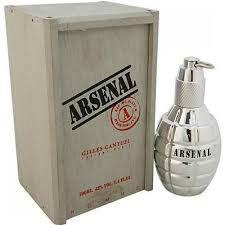 Perfume Arsenal Platinum Masculino - EDP - Gilles Cantuel - 100ml