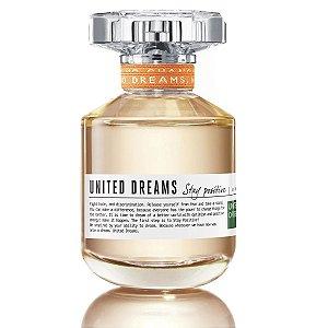 Perfume United Dreams Stay Positive Feminino - EDT - Benetton - 80ml