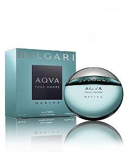 Perfume Aqva Marine Pour Homme Masculino - Eau de Toilette - Bvlgari