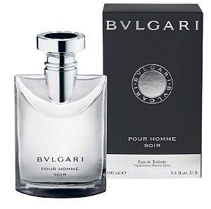 Perfume Bvlgari Pour Homme Soir Masculino - Eau de Toillete - Bvlgari